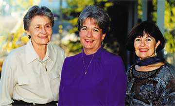 Irene Clark, Char Wrighton & Gigi Bradshaw