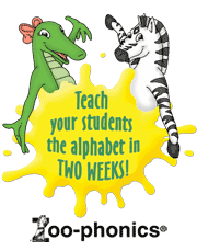 Teach your students the alphabet in two weeks!